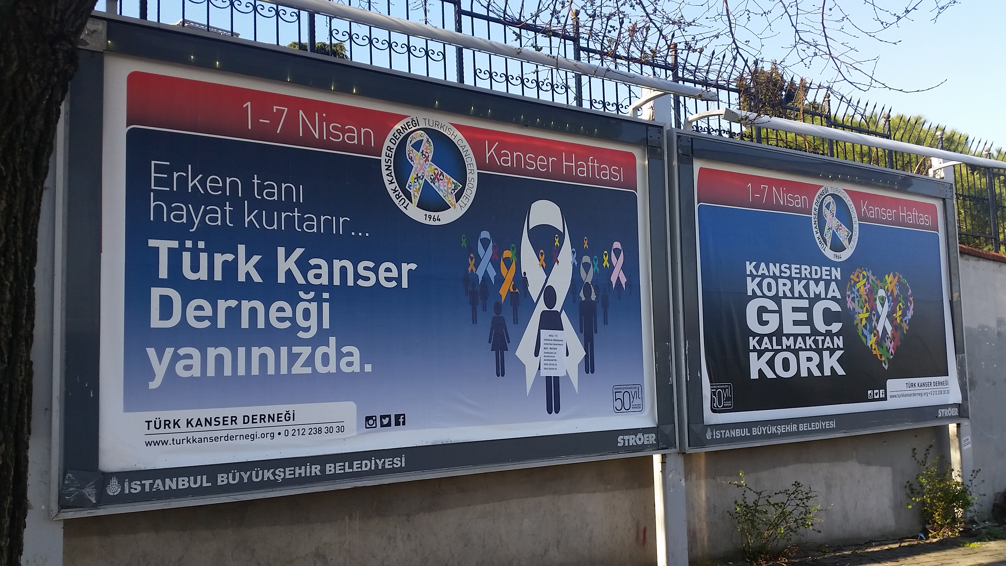 2015 Farkındalık Çalışmaları - TÜRK KANSER DERNEĞİ